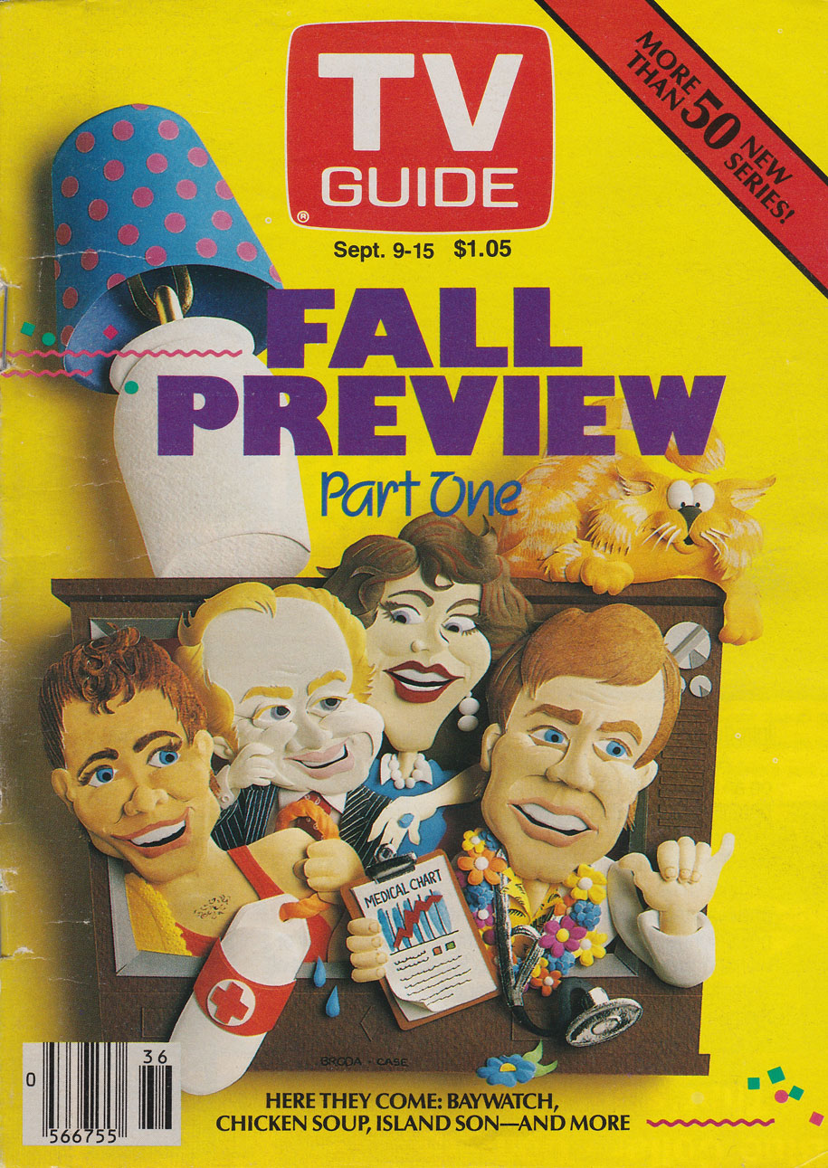 TV Guide September 9 1989 Western Ontario Edition Front Cover