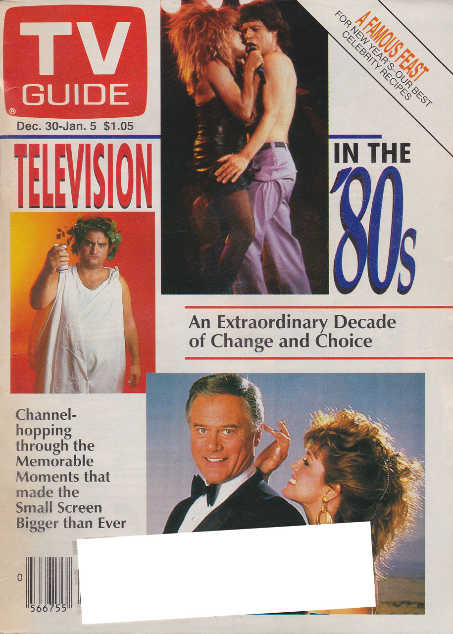 TV Guide December 30 1989 Oshawa-Peterborough Edition Front Cover