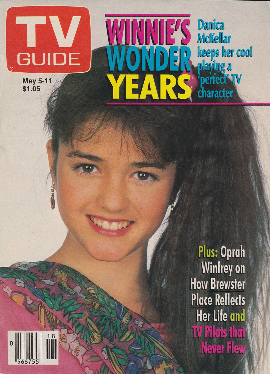 TV Guide May 5 1990 Western Ontario Edition Front Cover