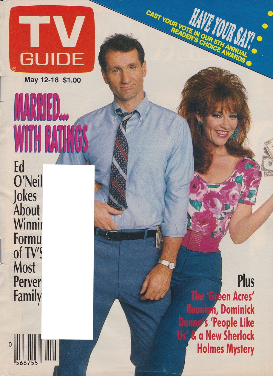 TV Guide May 12 1990 Western British Columbia Edition Front Cover