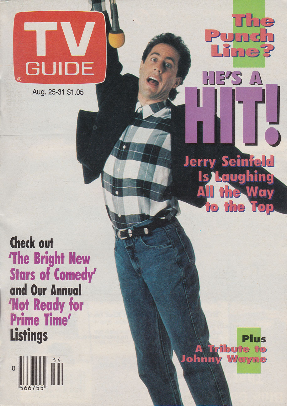 TV Guide August 25 1990 Toronto Edition Front Cover