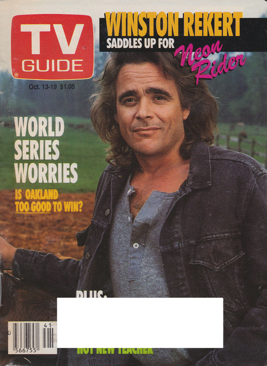 TV Guide October 13 1990 Hamilton & Region Edition Front Cover
