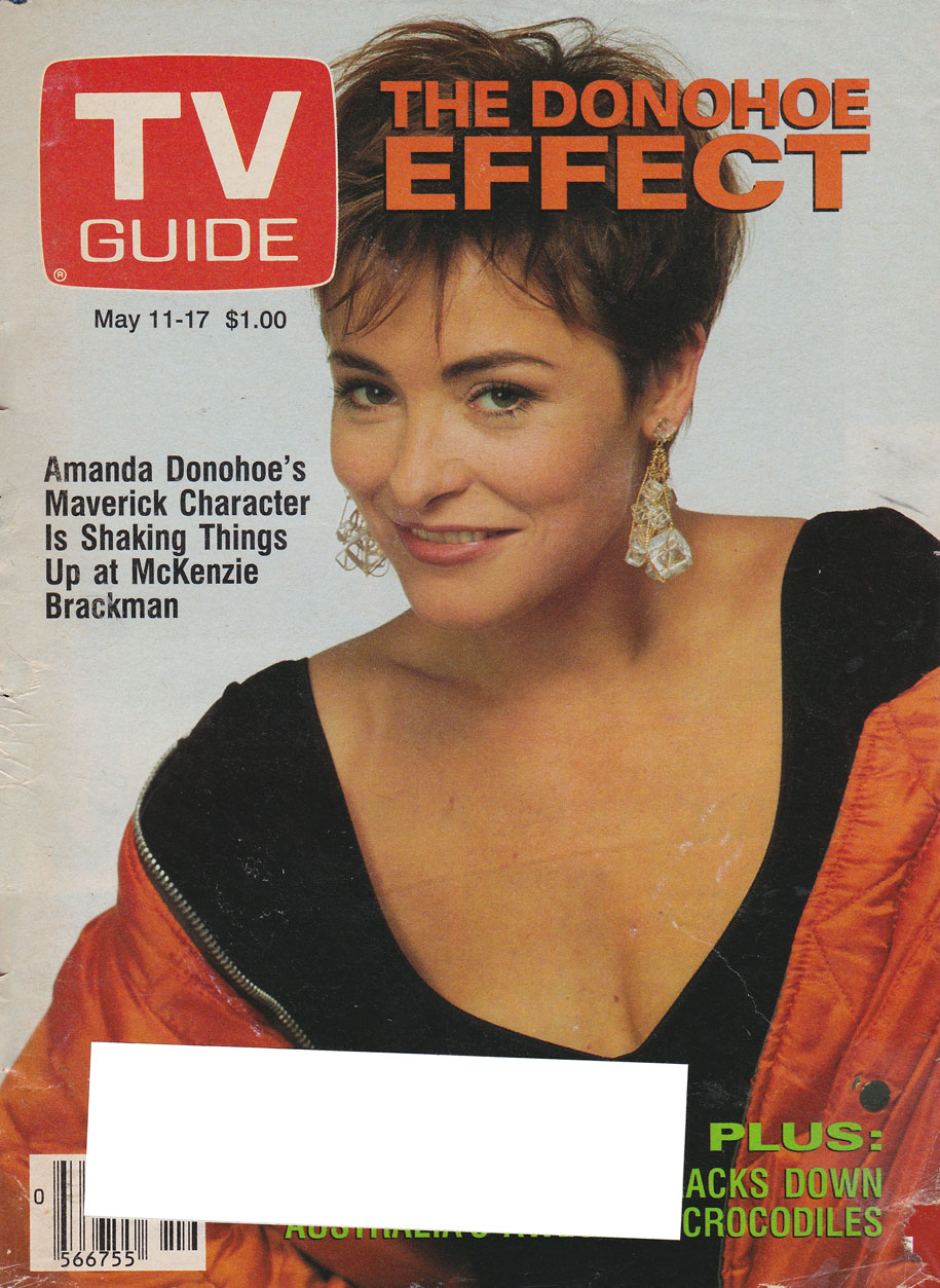 TV Guide May 11 1991 Alberta Edition Front Cover