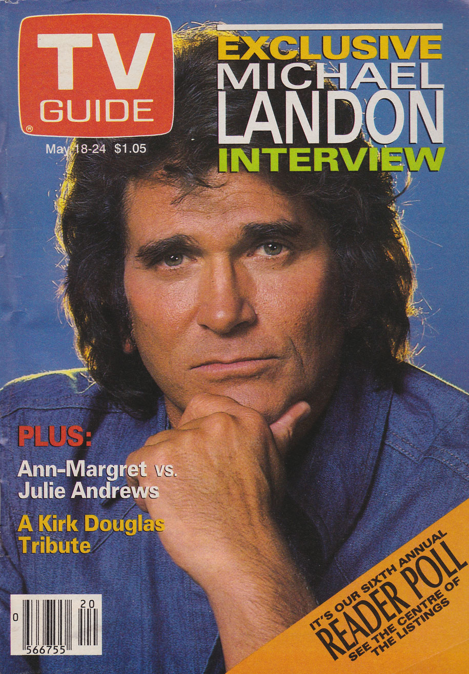 TV Guide May 18 1991 Manitoba Edition Front Cover