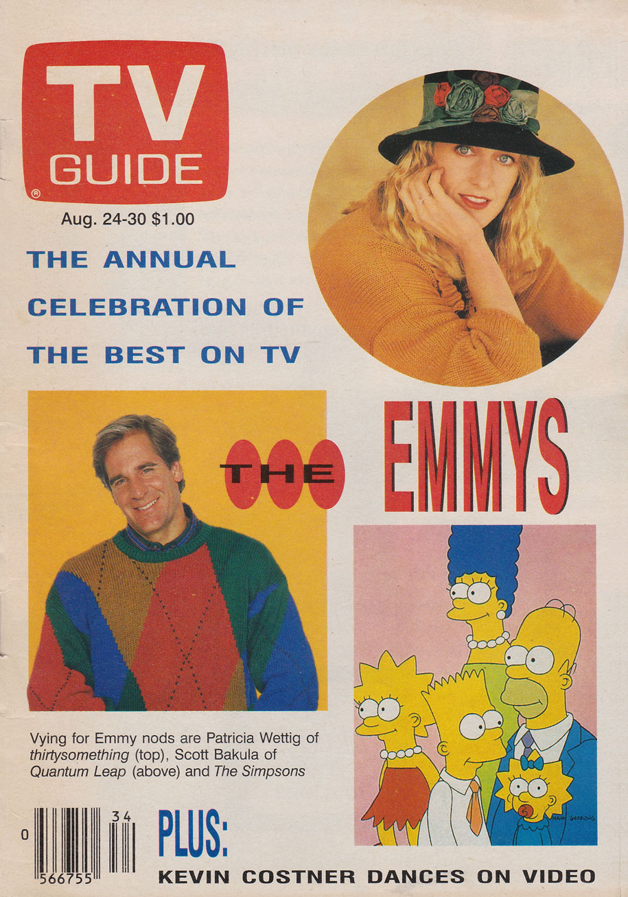 TV Guide August 24 1991 Western British Columbia Edition Front Cover