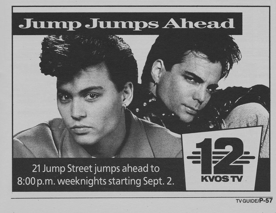 TV Guide August 24 1991 Western British Columbia Edition KVOS 21 Jump Street