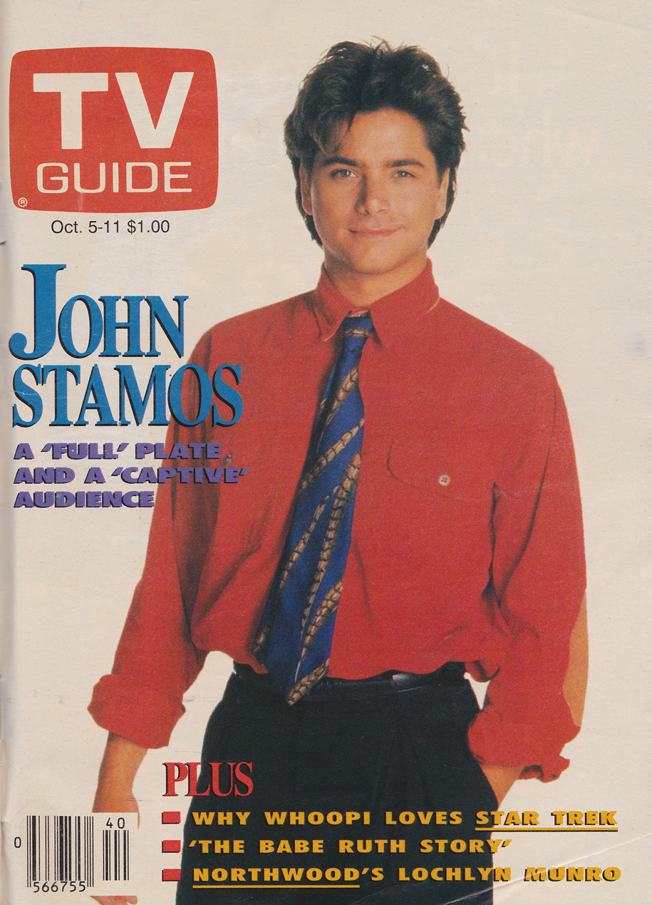 TV Guide October 5 1991 Toronto Edition Front Cover