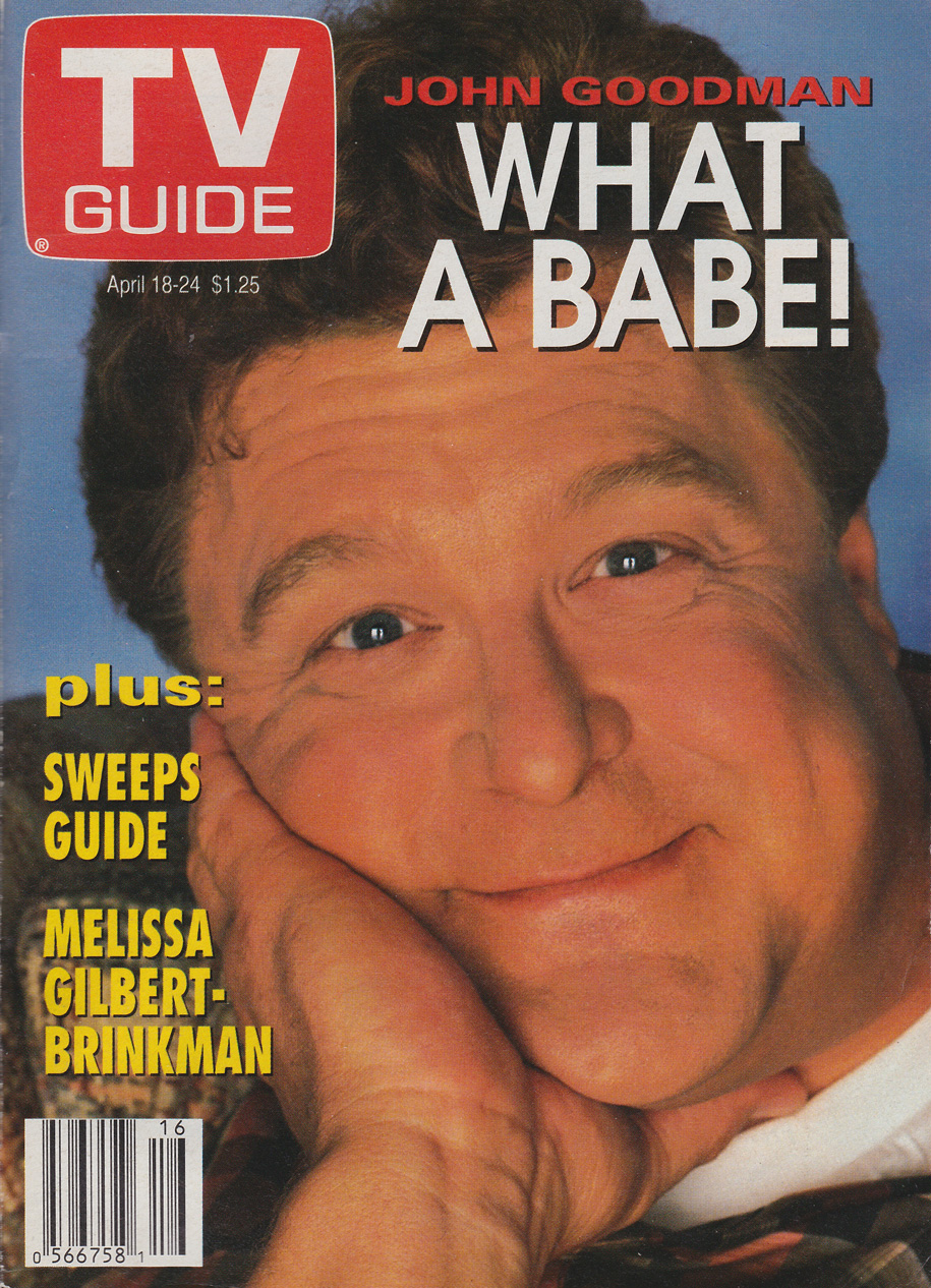 TV Guide April 18 1992 Ottawa-Eastern Ontario Edition Front Cover