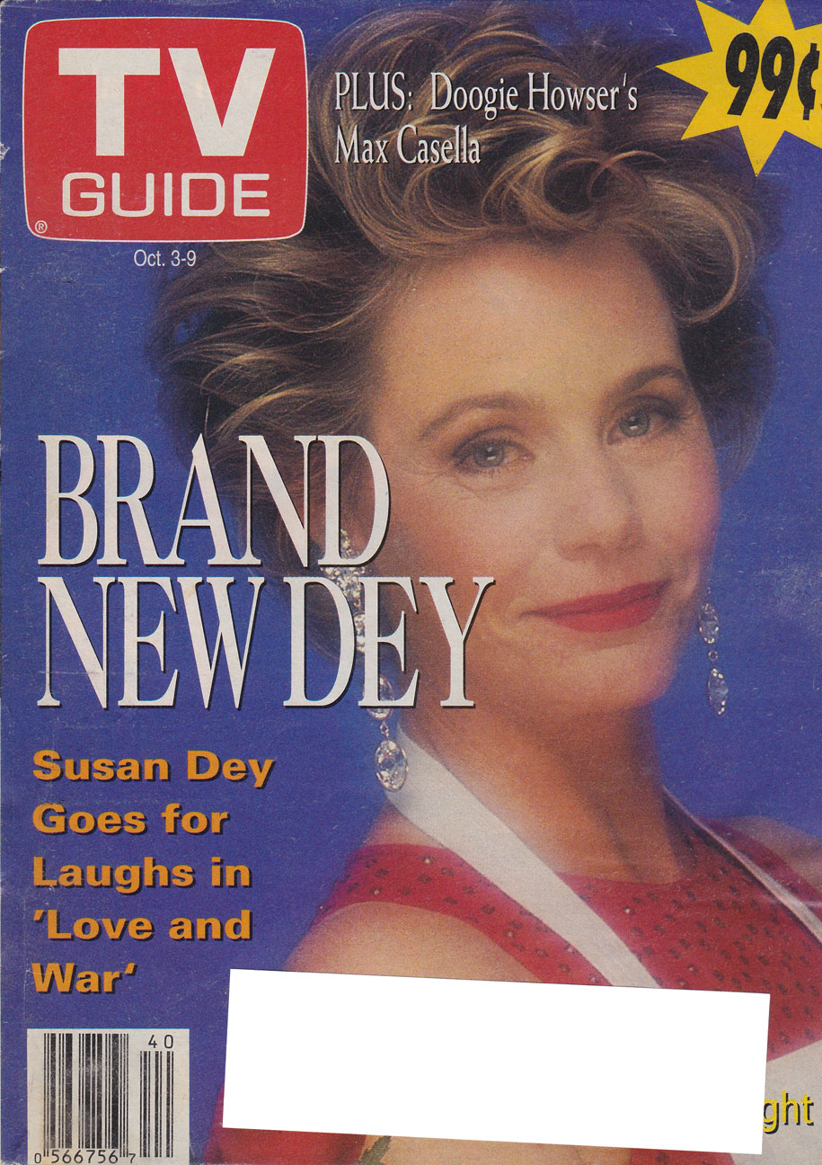 TV Guide October 3 1992 Hamilton & Region Edition Front Cover
