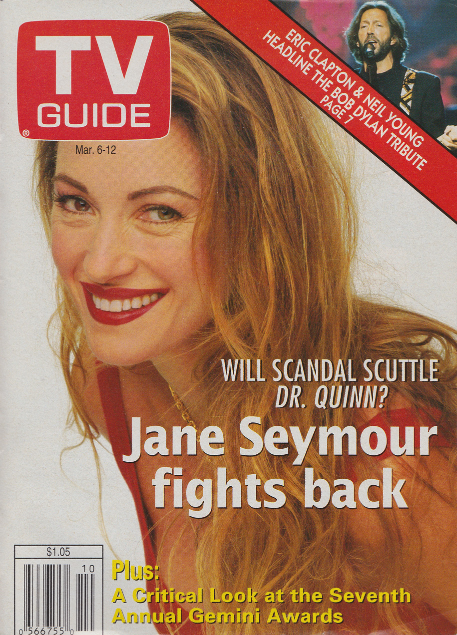 TV Guide March 6 1993 Ottawa-Eastern Ontario Edition Front Cover