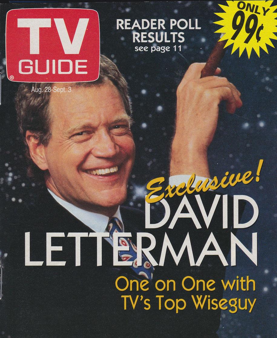 TV Guide August 28 1993 Oshawa-Peterborough Edition Front Cover