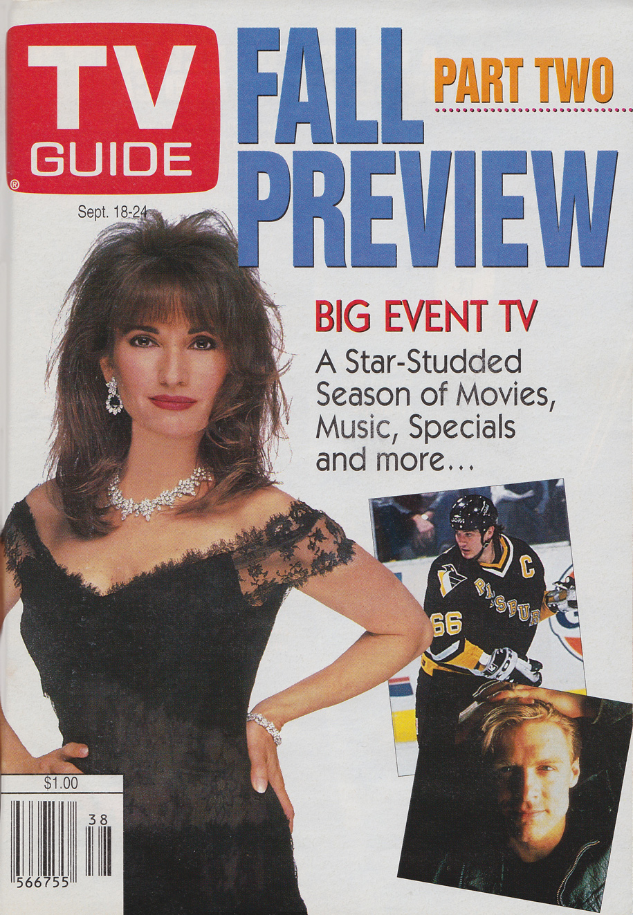 TV Guide September 18 1993 Western Ontario Edition Front Cover
