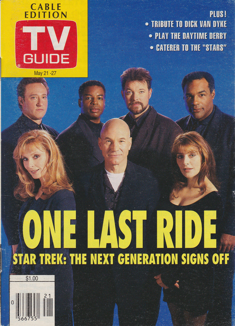 TV Guide May 21 1994 Calgary Cable Edition Front Cover