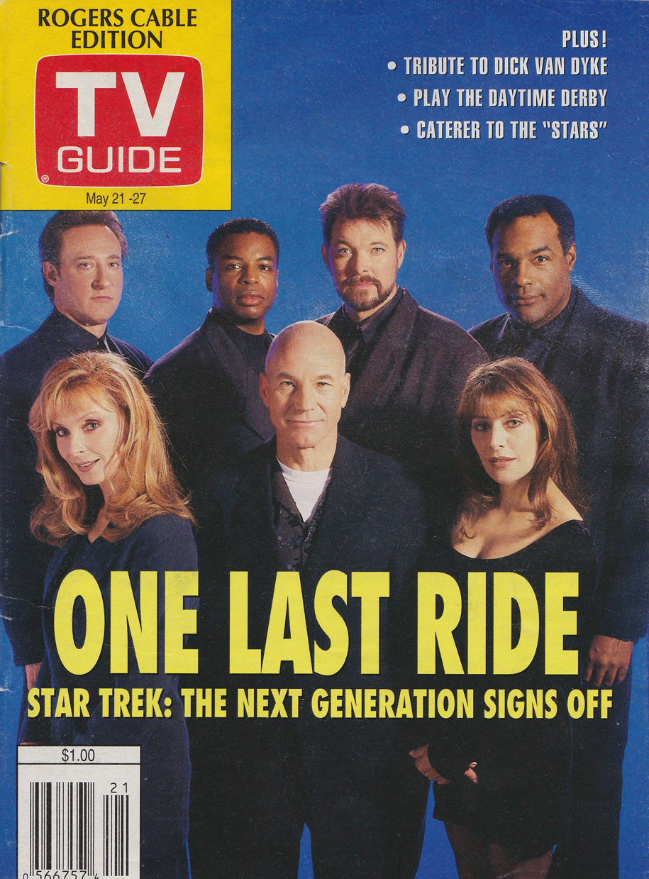 TV Guide May 21 1994 Vancouver Rogers Cable Edition Front Cover