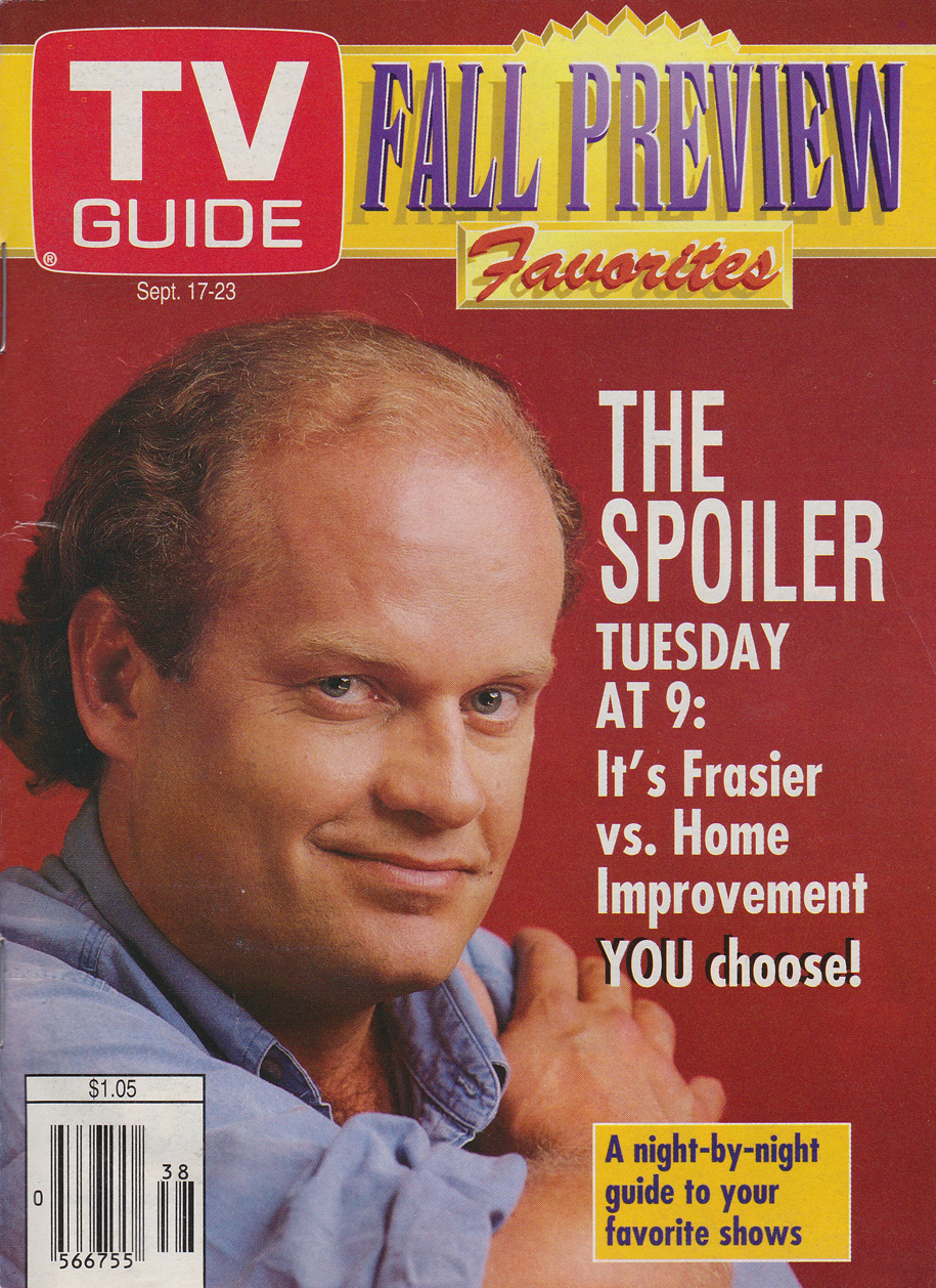 TV Guide September 17 1994 Oshawa-Peterborough Edition Front Cover