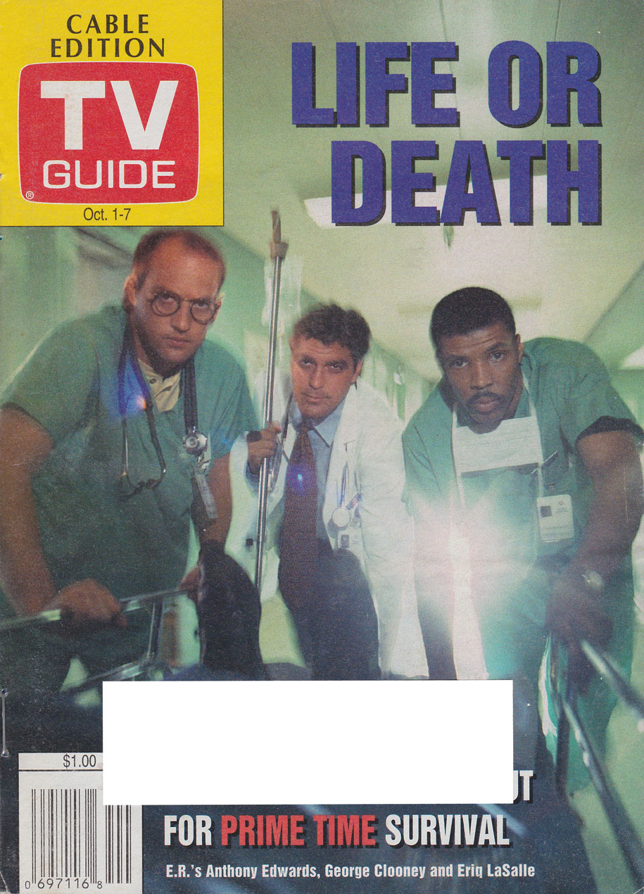 TV Guide October 1 1994 Edmonton Cable Edition Front Cover