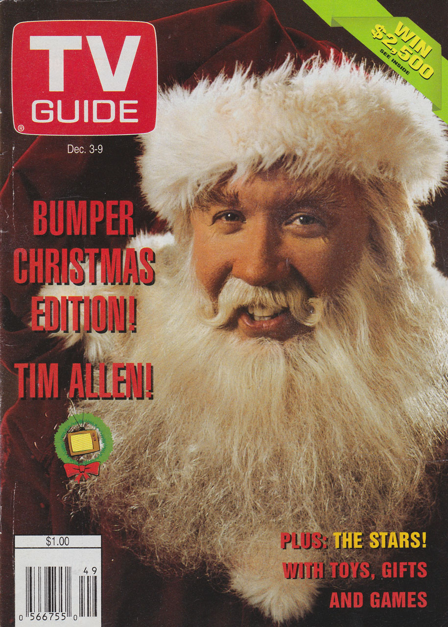 TV Guide December 3 1994 Manitoba Edition Front Cover