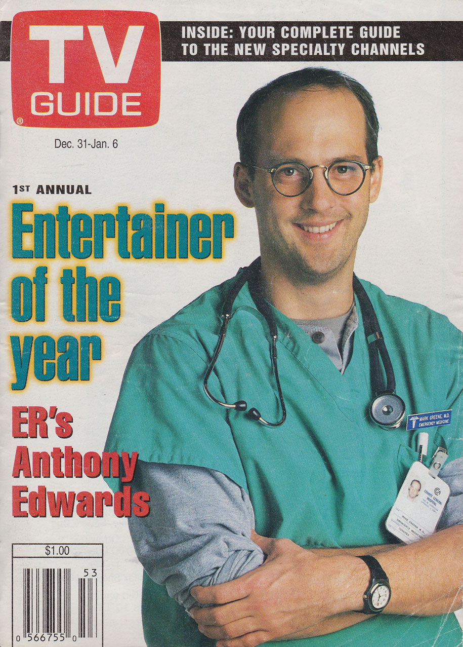 TV Guide December 31 1994 Eastern Ontario Edition Front Cover