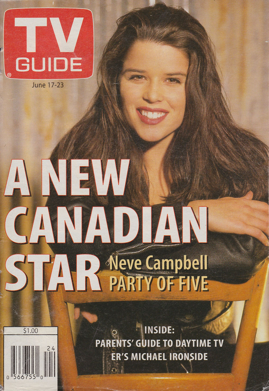 TV Guide June 17 1995 Oshawa-Peterborough Edition Front Cover