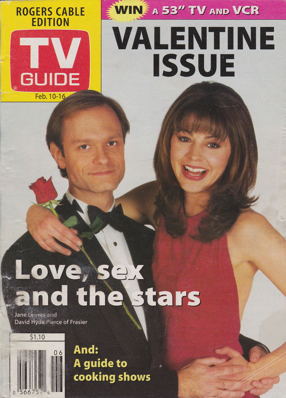 TV Guide February 10 1996 Toronto Rogers Cable Edition Front Cover