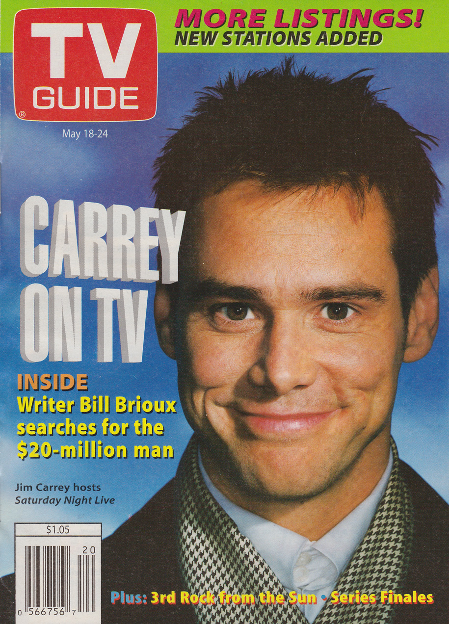 TV Guide May 18 1996 BC Edition Front Cover