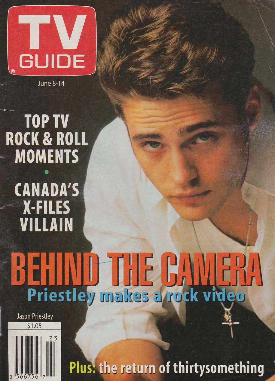 TV Guide June 8 1996 Manitoba Edition Front Cover
