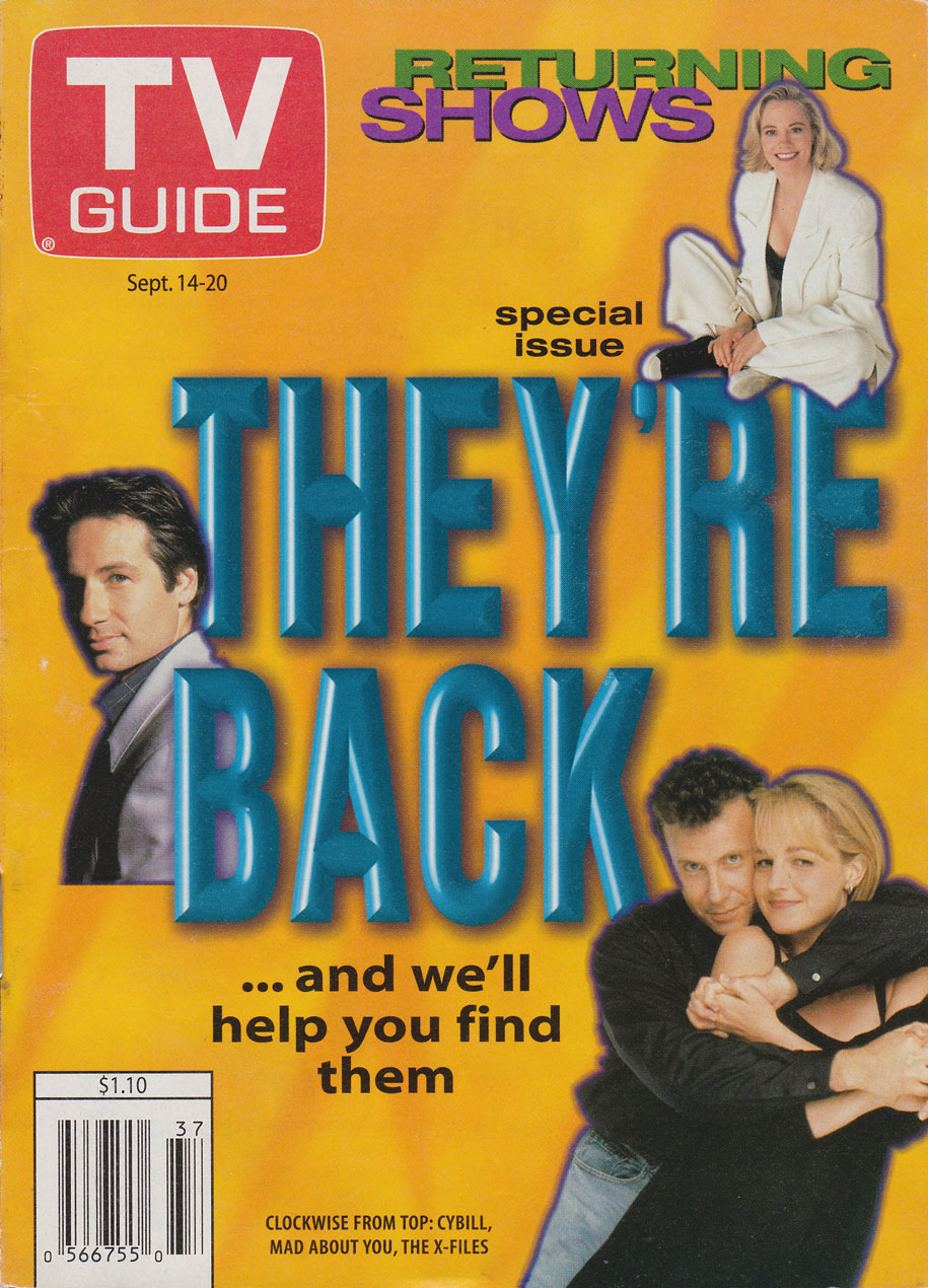 TV Guide September 14 1996 Montreal Edition Front Cover