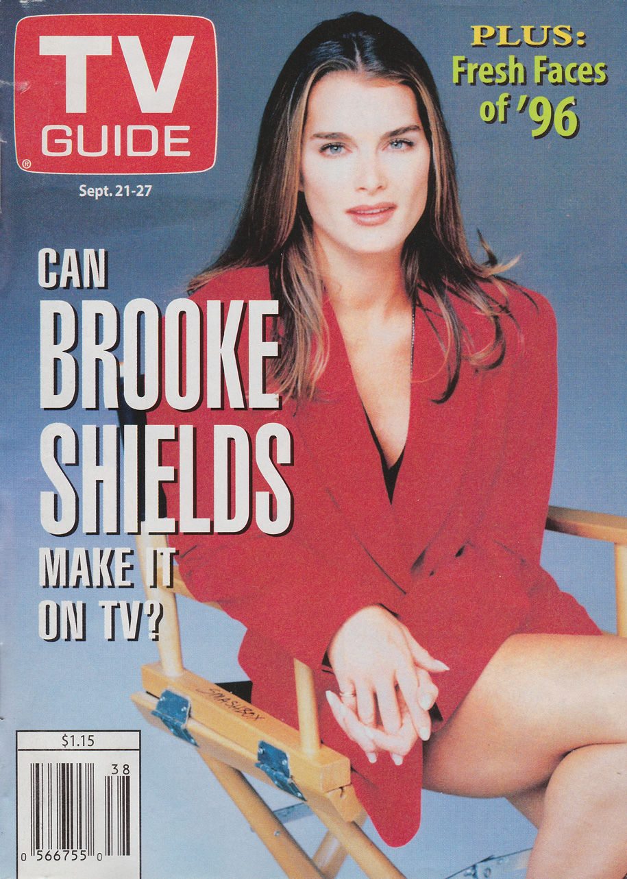 TV Guide September 21 1996 Toronto-Peterborough Edition Front Cover