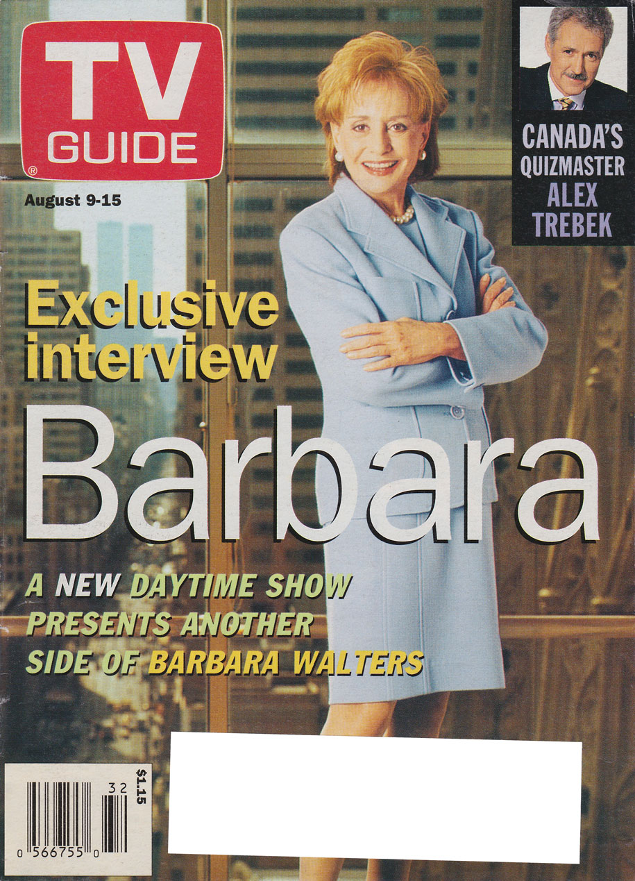 TV Guide August 9 1997 Eastern Ontario Edition Front Cover