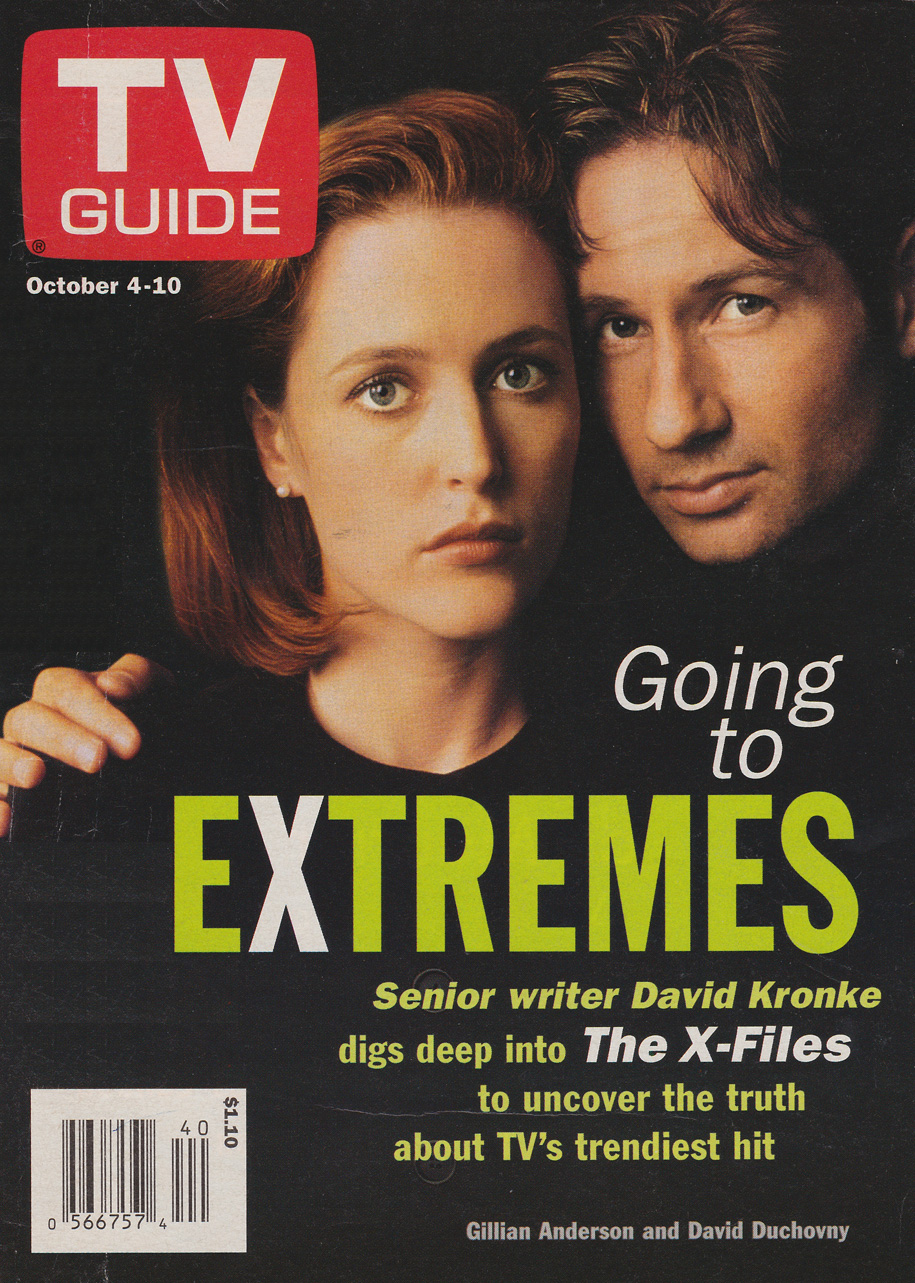 TV Guide October 4 1997 BC Edition Front Cover