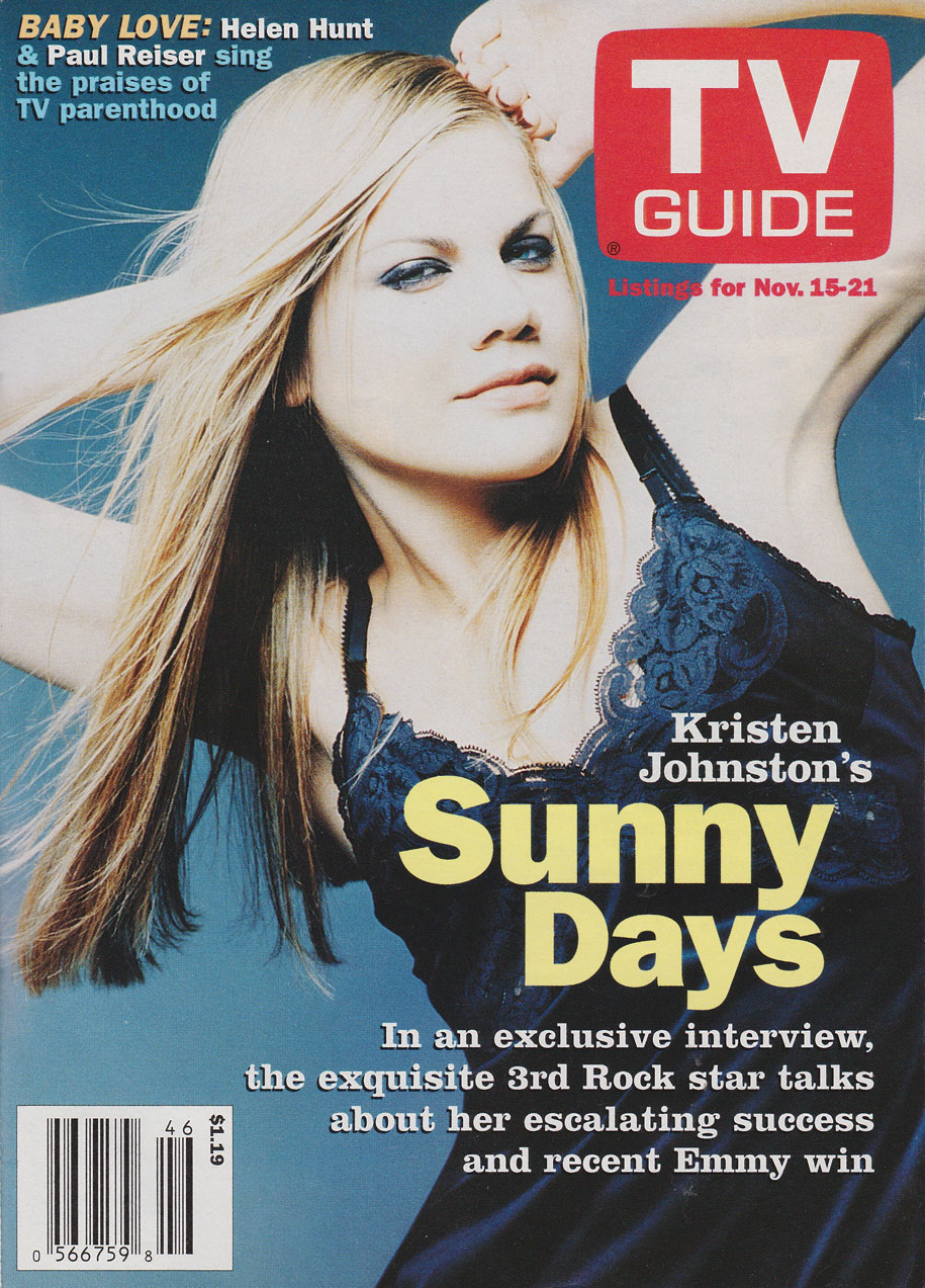TV Guide November 15 1997 BC Edition Front Cover