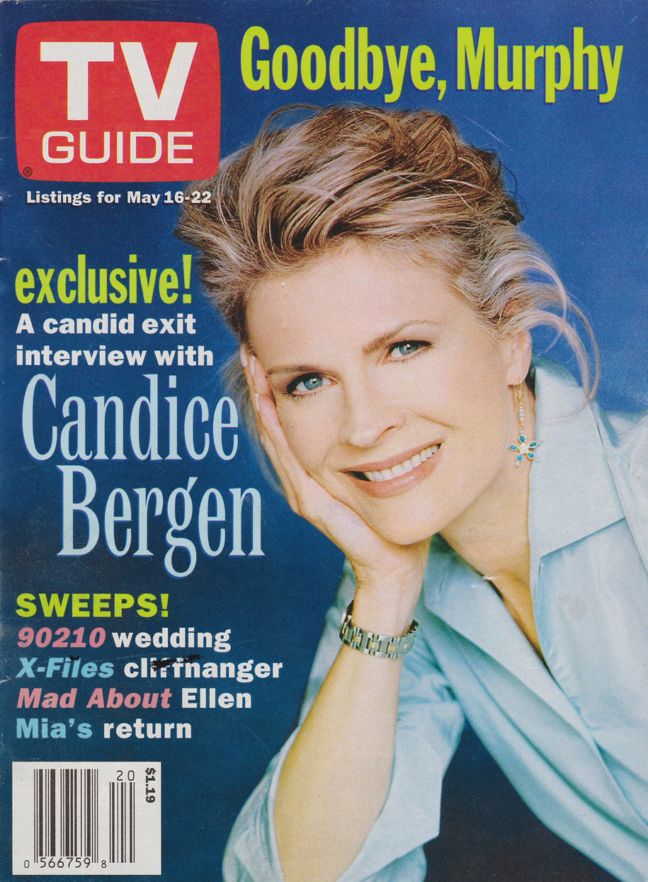 TV Guide May 16 1998 Eastern Ontario Edition Front Cover