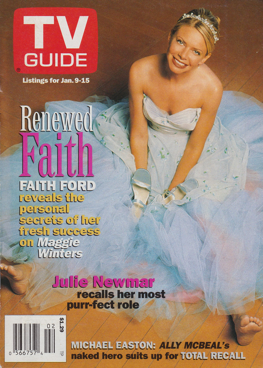 TV Guide January 9 1999 Toronto-Peterborough Edition Front Cover