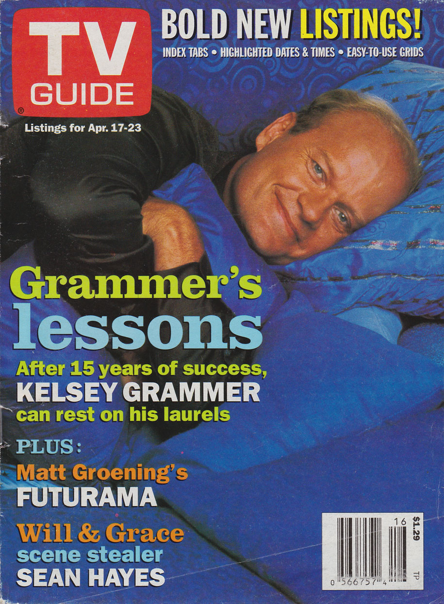 TV Guide April 17 1999 Toronto-Peterborough Edition Front Cover
