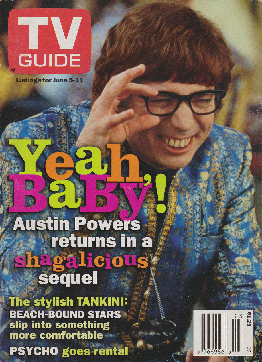 TV Guide June 5 1999 BC Edition Front Cover