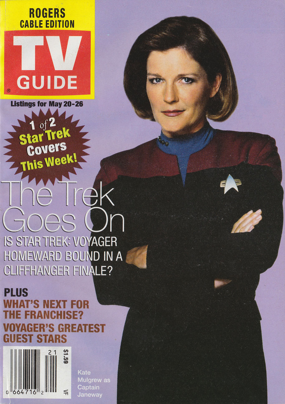 TV Guide May 20 2000 Vancouver Rogers Cable Edition Front Cover