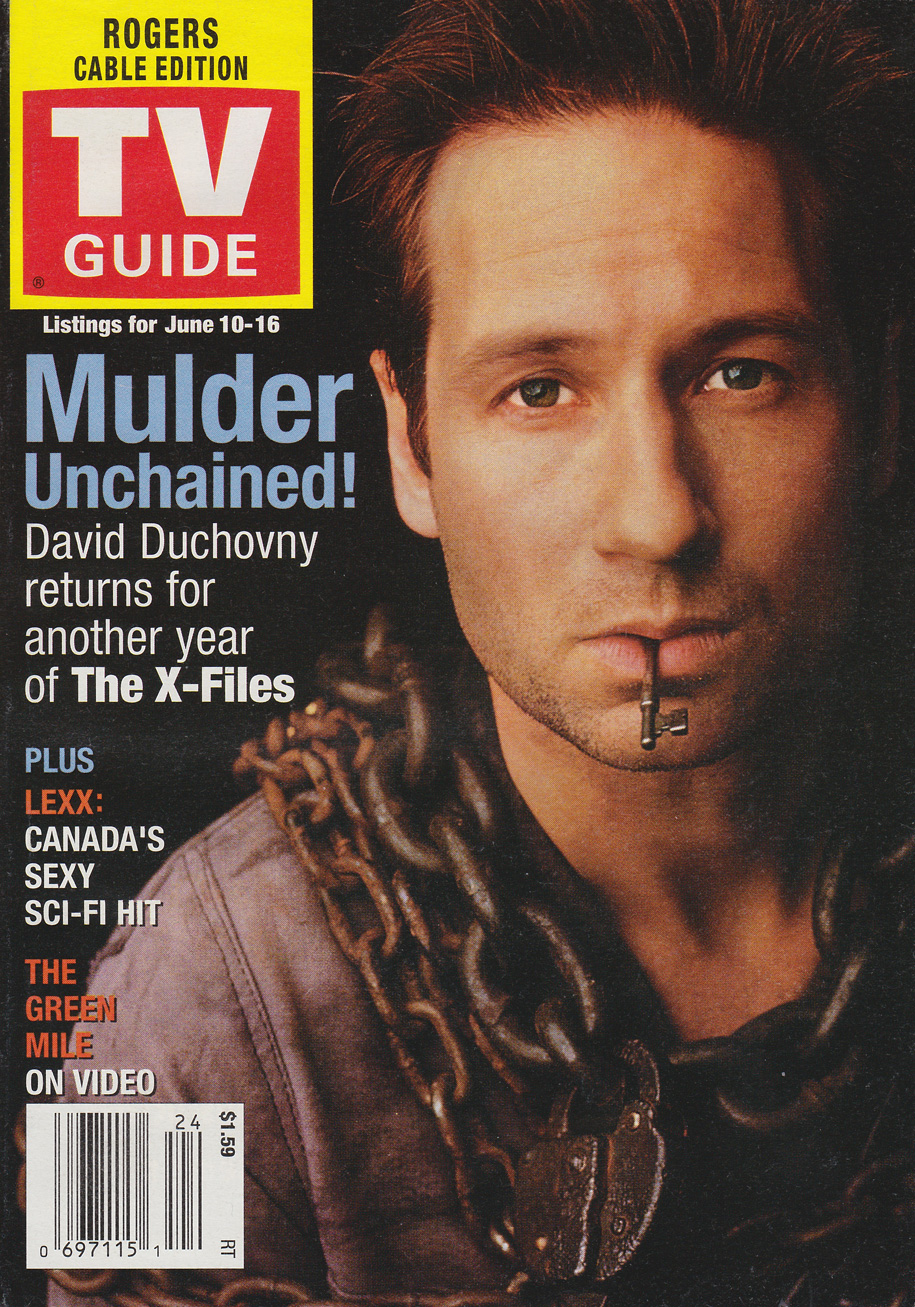 TV Guide June 10 2000 Toronto Rogers Cable Edition Front Cover