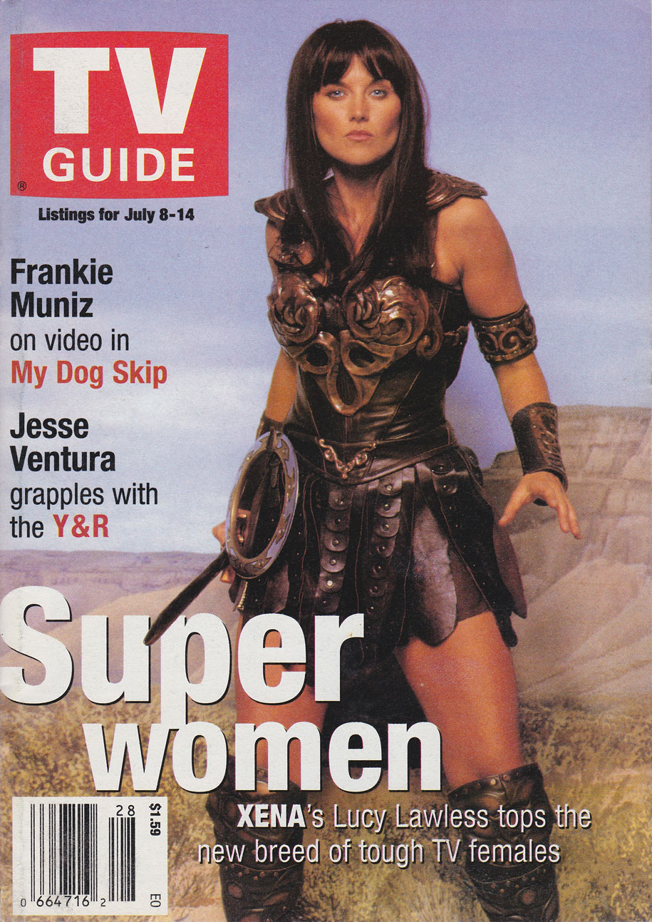 TV Guide July 8 2000 Eastern Ontario Edition Front Cover