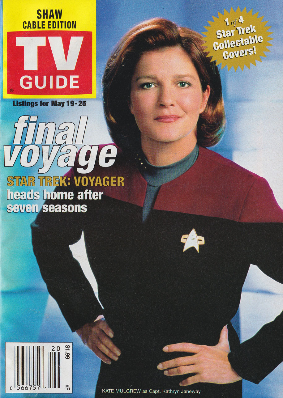 TV Guide May 19 2001 Vancouver Rogers Cable Edition Front Cover