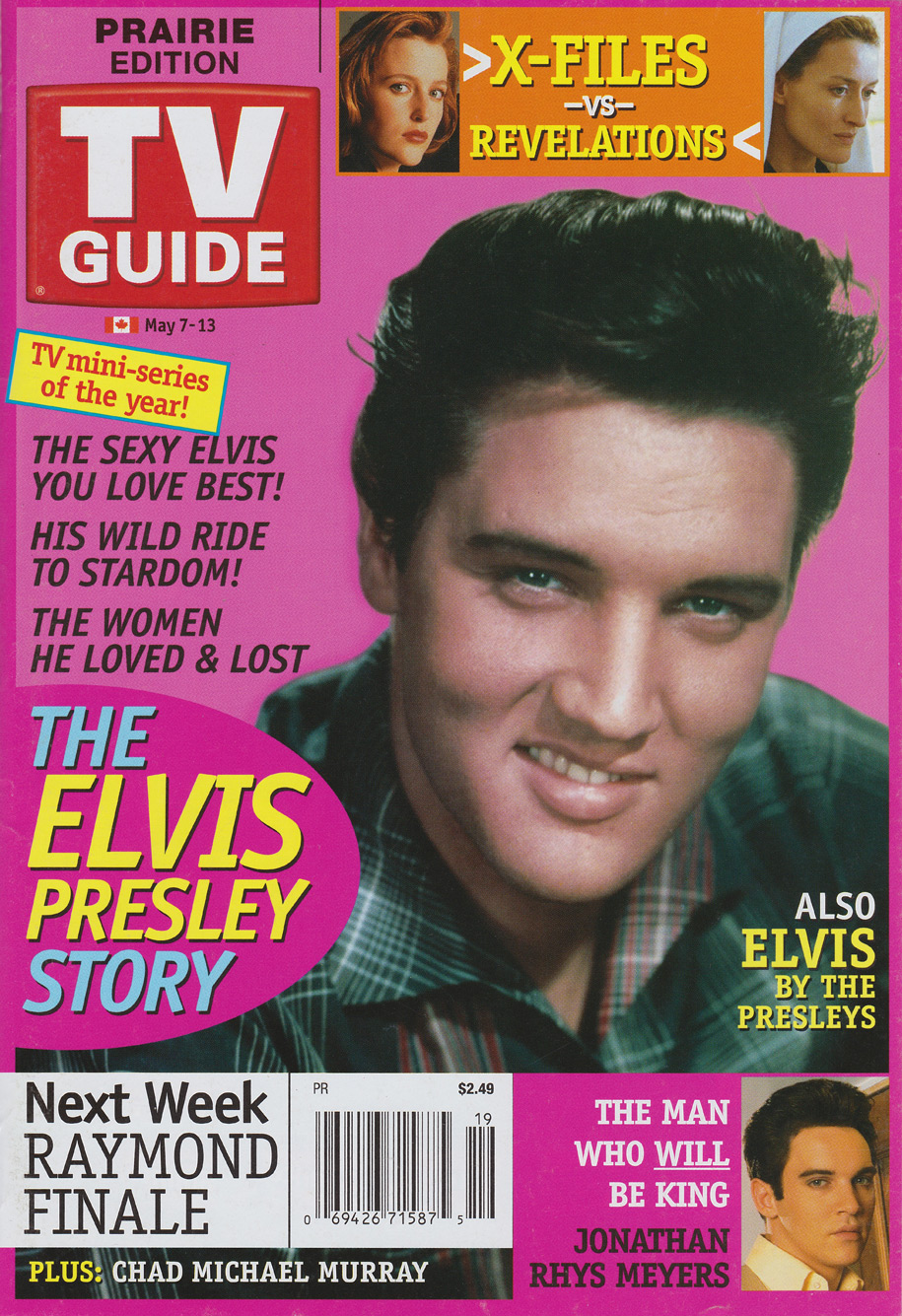 TV Guide May 7 2005 Prairie Edition Front Cover
