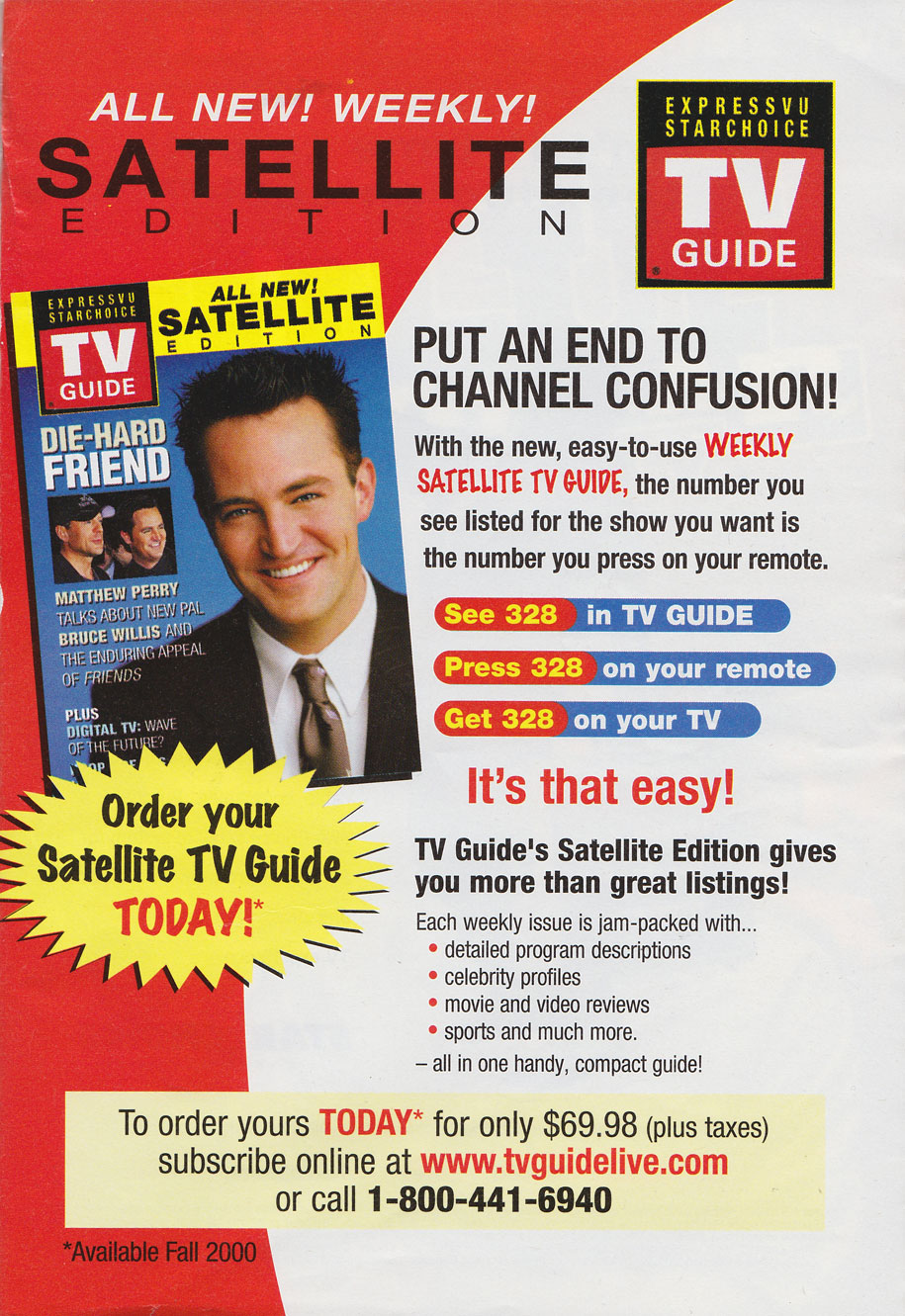 Canadian TV Guide Satellite Edition