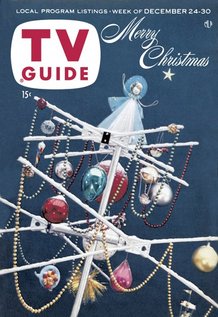 TV Guide December 24 1955 Western Washington Edition Front Cover