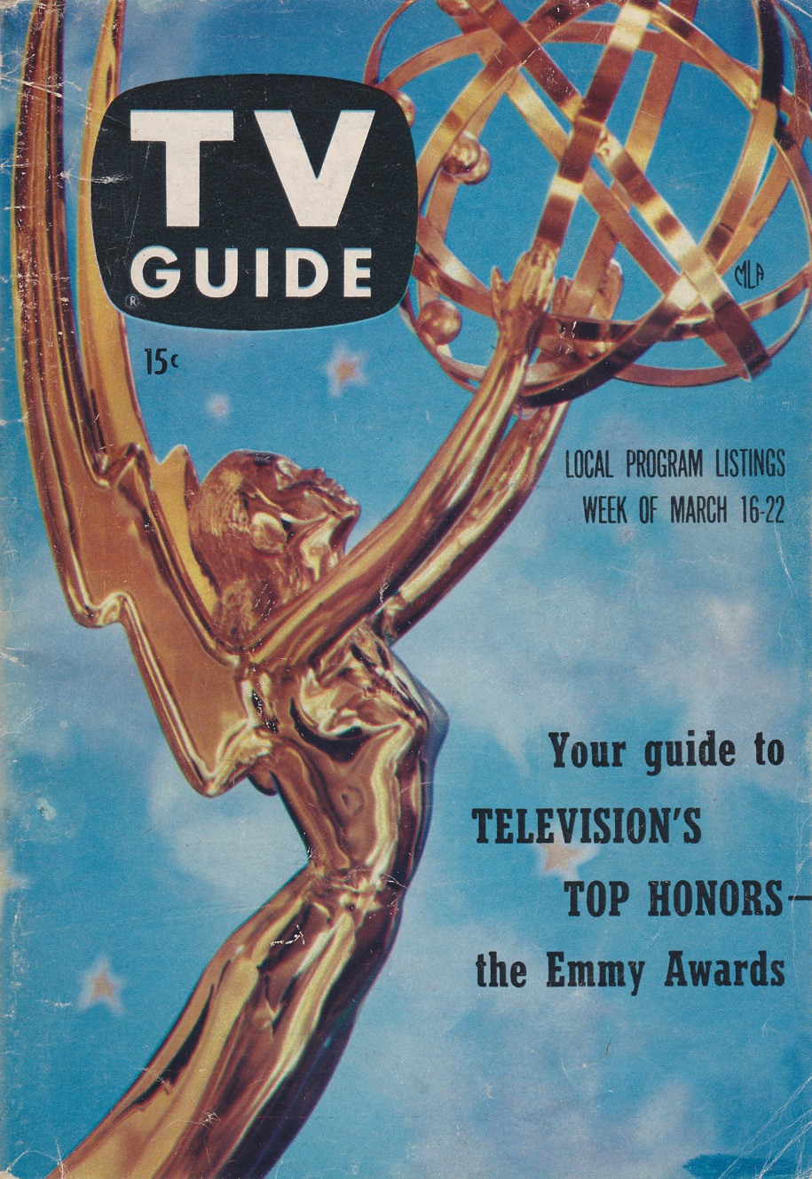 TV Guide March 16 1957 Hudson Valley Edition Front Cover