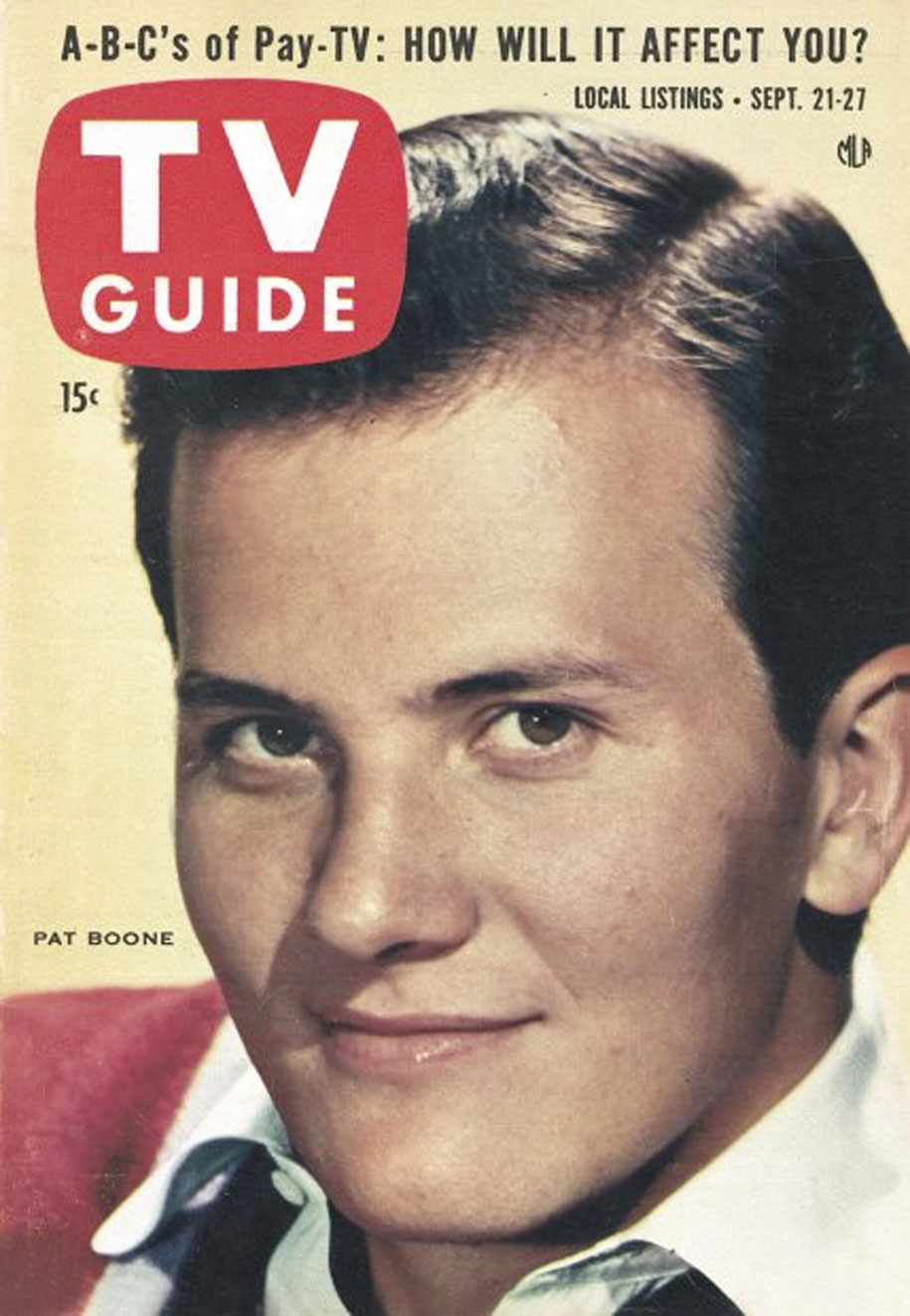 TV Guide September 21 1957 Lake Ontario Edition Front Cover