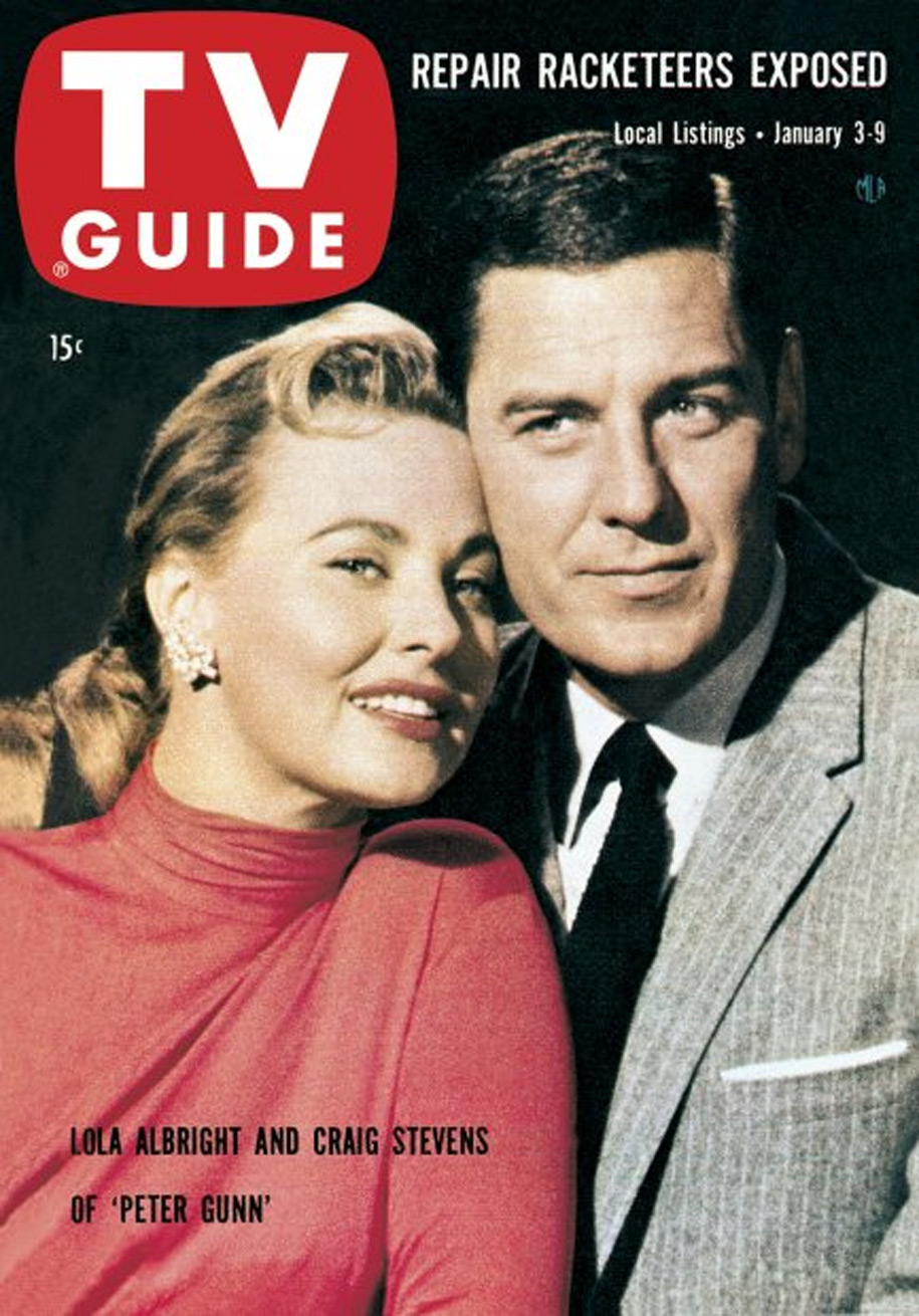 TV Guide January 3 1959 St Lawrence Edition Front Cover
