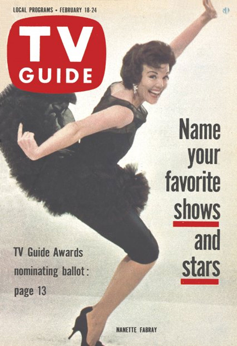 TV Guide February 18 1961 Dakota-Winnipeg-Edition Front Cover