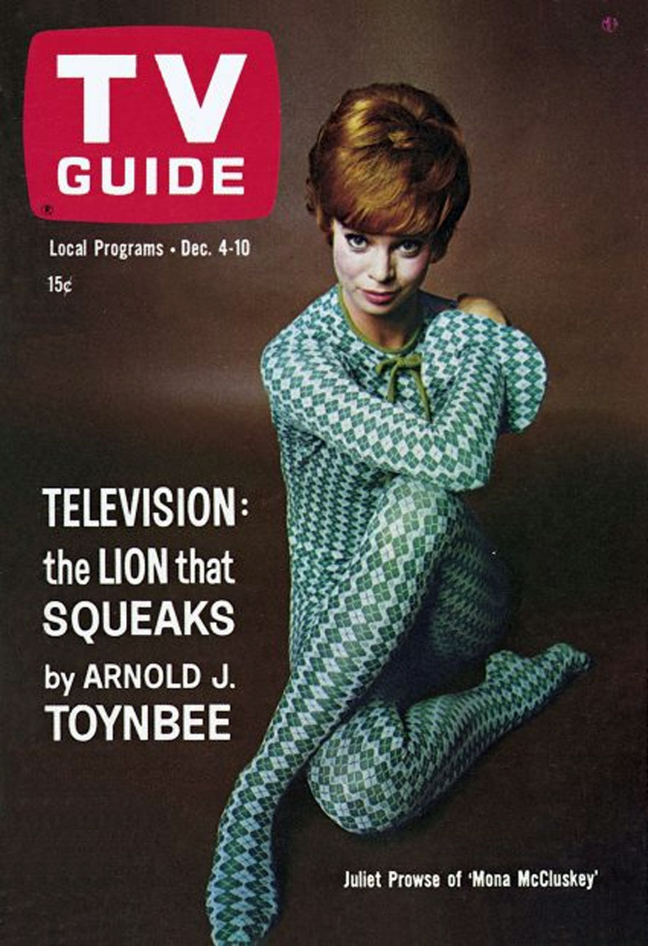 TV Guide December 4 1965 Manitoba-Saskatchewan Edition Front Cover