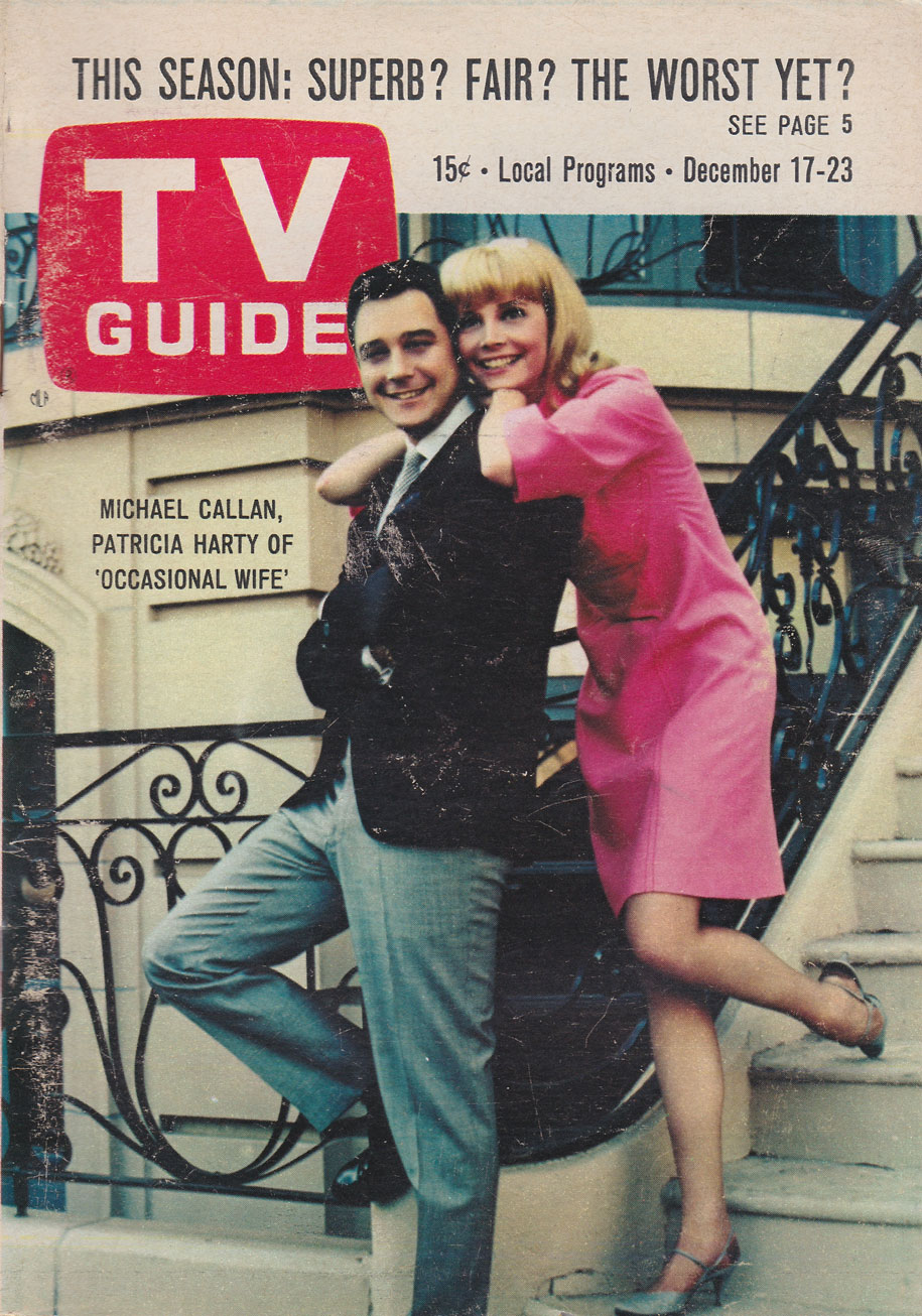 TV Guide December 17 1966 Toronto-Lake Ontario Edition Front Cover