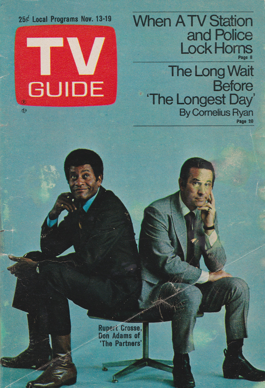 TV Guide November 13 1971 Western British Columbia Edition Front Cover