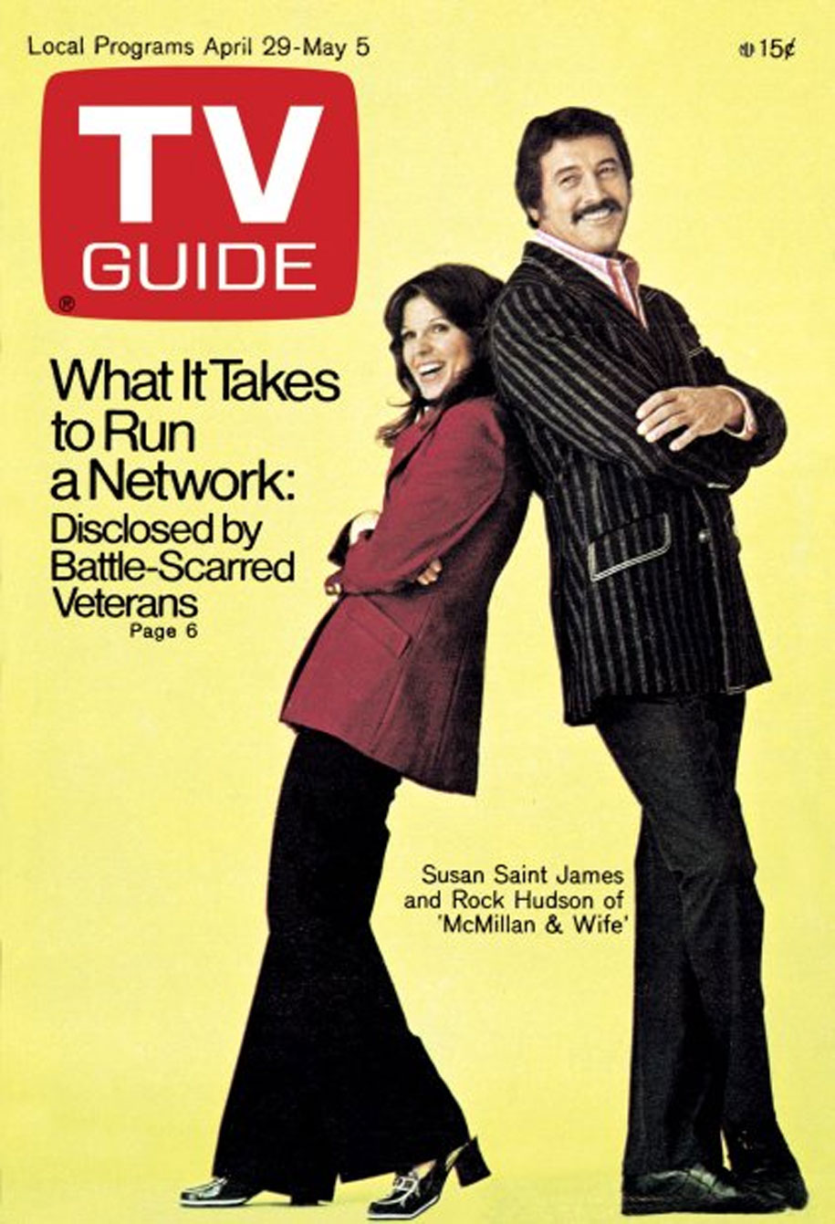 TV Guide April 29 1972 Montreal-St Lawrence Edition Front Cover